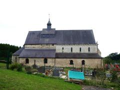 Eglise - Français:   Saint-Loup-Terrier (Ardennes, France); église