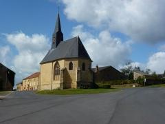 Chapelle de Giraumont - English: Saint-Marcel (Ardennes) chapelle de Giraumont, chevet