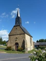 Chapelle de Giraumont - English: Saint-Marcel (Ardennes) chapelle de Giraumont, façade