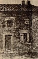 Maison natale de Dom Mabillon - Polski: Dom urodzenia Jeana Mabillona w Saint-Pierremont.
