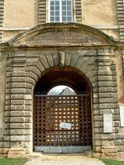 Château-Bas, à l'entrée de la citadelle - Français:   Sedan - Château Bas - Porte d\'entrée
