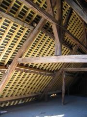 Château-haut -  Description du contenu: rénovation da la toiture du chateau fort de sedan, par l'entreprise HABAI Source: http://habai.fr/ 10/10/2006 Author: habai joffrey.