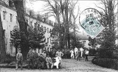 Couvent des Capucins Irlandais , puis hôpital militaire - Français:   Intérieur_de_l\'hôpital_militaire_qui fut la couvent des capucins.