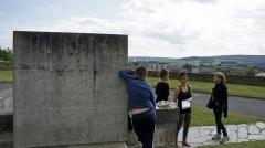 Couvent des Capucins Irlandais , puis hôpital militaire - Français:   entrée du tombeau.