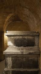 Couvent des Capucins Irlandais , puis hôpital militaire - Français:   Le tombeau de Fabert, martelé avec voûte en plein ceintre.