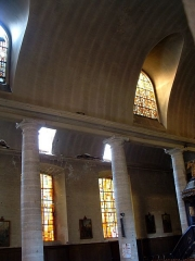 Eglise Saint-Charles-Borromée - Français:   Sedan - Eglise Saint-Charles-Borromée - Elévation de la nef - Ancien temple