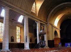 Eglise Saint-Charles-Borromée - Français:   Sedan - glise Saint-Charles-Borromée - Nef de l\'ancien temple