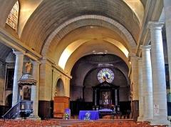 Eglise Saint-Charles-Borromée - Français:   Sedan - Eglise Saint-Charles-Borromée - Vaisseau central - Nef, transept et abside