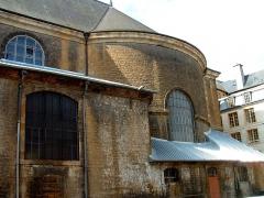 Eglise Saint-Charles-Borromée - Français:   Sedan - Eglise Saint-Charles-Borromée - Abside ajoutée en 1688