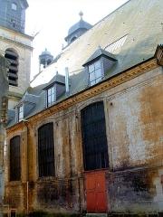 Eglise Saint-Charles-Borromée - Français:   Sedan - Eglise Saint-Charles-Borromée - Elévation extérieure de l\'ancien temple
