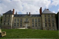 Château, parc et grange aux dîmes - Français:   Vue du Château de Thugny-Trugny .