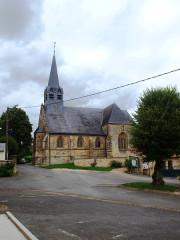 Eglise - Français:   Tourteron (Ardennes, France); église