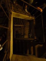 Fortifications de la ligne Maginot dites Ouvrages de la Ferté - Français:   Escalier du Bloc 1