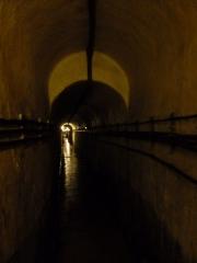 Fortifications de la ligne Maginot dites Ouvrages de la Ferté - Français:   Tunnel reliant le Bloc1 au Bloc 2