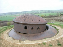 """Fortifications de la ligne Maginot dites """"Ouvrages de la Ferté"""" £ - This building is indexed in the Base Mérimée, a database of architectural heritage maintained by the French Ministry of Culture,under the reference PA00078437 ."""