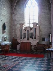 Eglise Saint-Maurille -  Eglise Saint-Maurille, Vouziers, Ardennes.L'orgue.