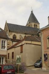 Eglise Saint-Trésain - English: Avenay-Val-d'Or, view to church Saint Trésain