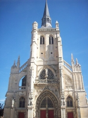 Eglise - English: Church Saint-Brice of Aÿ