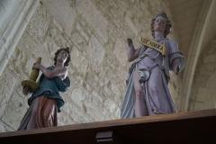 Eglise - intérieur de l'église.