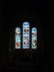 Eglise Saint-Jean - Vitrail de l'église Saint-Jean de Châlons-en-Champagne (Marne, France): vie de Jésus