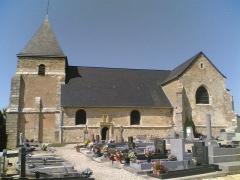 Eglise -  Eglise de Chavot (Champagne)