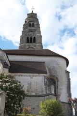 Eglise - Deutsch: Kirche Saint-Rémi in Condé-sur-Marne im Département Marne (Champagne-Ardenne/Frankreich), Kirchturm