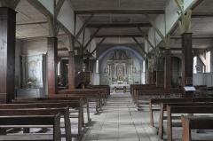 Eglise - Deutsch: Katholische Kirche Notre-Dame-de-l'Assomption in Drosnay im Département Marne (Champagne-Ardenne/Frankreich), Innenraum