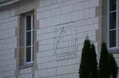Château de Juvigny -  cadran solaire du château.