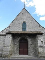 Eglise - Français:   Façade occidentale de l\'église Saint-Rémi de Mareuil-le-Port (51).