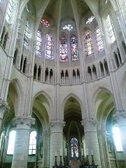 Abbaye -  Brie Orbais Abbaye Saint-Pierre Paul Choeur 29092012