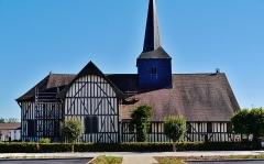 Eglise - Deutsch: Kirche St. Nikolaus, Outines, Département Marne, Region Champagne-Ardenne (heute Großer Osten), Frankreich