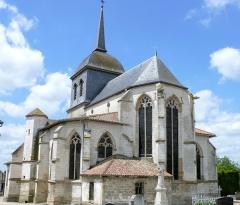 Eglise de la Nativité de la Vierge - Français:   Pogny - Eglise de la Nativité-de-la-Vierge