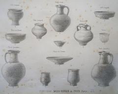 Tumulus ou tombeau de Théodoric - Français:   description des fouilles de Morel.