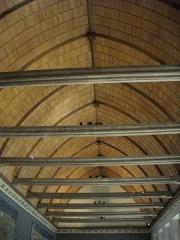 Ancien archevêché, actuellement Palais du Tau - Salle des banquets du Palais du Tau à Reims (Marne, France), charpente