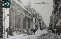 Hôtel des postes - Français:   vue de la Rue Cérès (Reims).