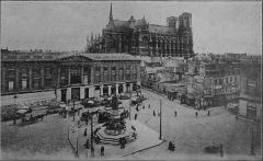 Hôtel des postes - Français:   publié en 1907.