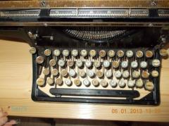 Immeuble - Polski: przedwojenna maszyna do pisania