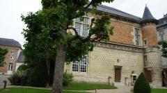 Pavillon de Muire - Français:   Rue du Marc . Vue sur le Pavillon de Muire  .