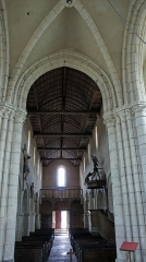 Eglise -  vue de l'église.