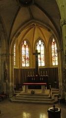 Eglise - English: en l'Église Saint-Martin de Sommepy-Tahure.