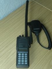 Eglise -  A Motorola radio