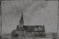 Eglise Saint-Prix - Français:   in almanch Mattot-Braine de 1915-17.