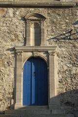 Eglise - Deutsch: Kirche Saint-Martin in Troissy im Département Marne (Champagne-Ardenne/Frankreich), Portal