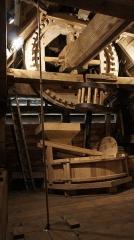 Moulin de Valmy - Français:   Moulin de Valmy, une vue de l\'intérieur .