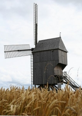 Moulin de Valmy - Nederlands:   De Valmy Molen zomer 2007
