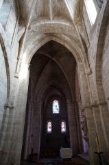 Eglise Saint-Martin - Église de Vertus, son transept nord .