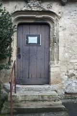 Eglise Saint-Lié - English:  Noth door of the church Saint Lié.