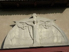 Chapelle Saint-Nicolas -  Vitry-le-François (51300 - FRANCE): photographies  Chapelle Saint Nicolas (détail de l'entrée).