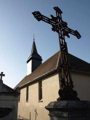 Chapelle Saint-Nicolas -  Vitry-le-François (51300 - FRANCE): photographies Chapelle Saint Nicolas et son cimetière (vue de derrière).