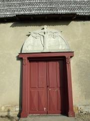 Chapelle Saint-Nicolas -  Vitry-le-François (51300 - FRANCE): photographies  Chapelle Saint Nicolas (entrée et frontispice).